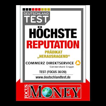 Focus Money 30/20 Höchste Reputation